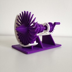 Download free 3D printing files Build Your Own Jet Engine, Free-3D-Models