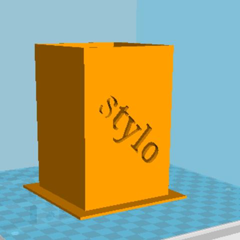 55.PNG Download free STL file pencil box • 3D printer object, tim54lol