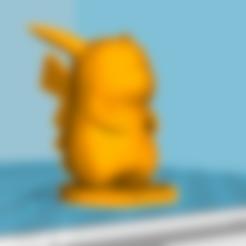 Download free 3D printing templates Pickachu, tim54lol