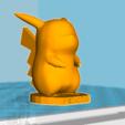 4.PNG Download free STL file Pickachu • 3D printable design, tim54lol