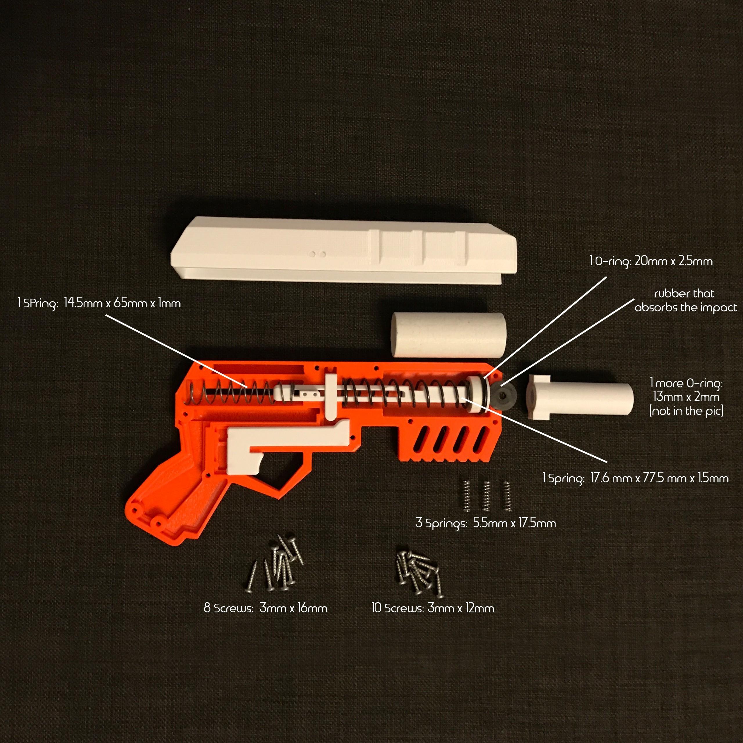 Unbenannt-1.jpg Download free STL file Foam Dart GUN (pullback loading) • 3D print design, senns