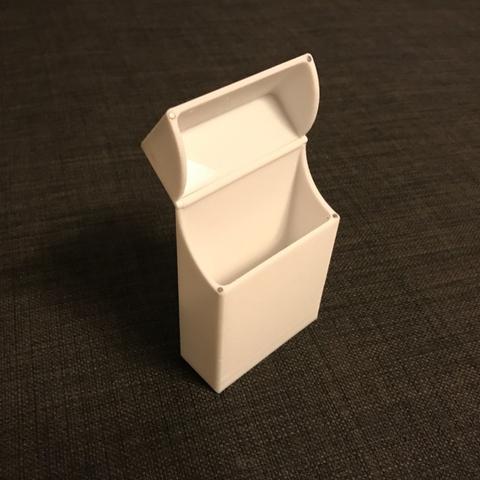 Capture d'écran 2017-01-10 à 09.59.28.png Download free STL file Magnetic Cigarette Box • Design to 3D print, senns