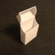 Download free STL files Magnetic Cigarette Box, senns