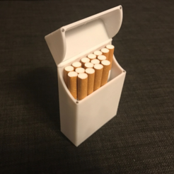 Free STL Magnetic Cigarette Box, senns