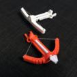 Free 3D printer designs Ballista (crossbow) printable in one piece, senns