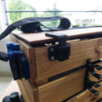 Free 3D printer designs Clasp for my wooden box IKEA, vanson