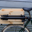 Download free STL file Holder for Vanguard tripod for my wooden box Ikea • 3D printing design, vanson
