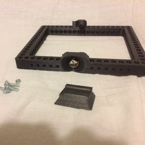 Free 3D file Cage modular DSLR mount for vanguard, vanson