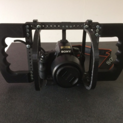 Download free 3D printer templates Protective cage for cage modular DSLR, vanson