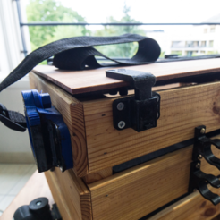 Free 3D print files Strap for my wooden box Ikea, vanson