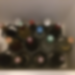 Download free STL file Modular Wine Rack • 3D printer object, vanson