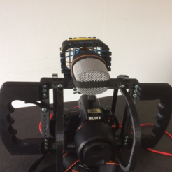 Plan imprimante 3D gatuit Micro support pour cage modulaire DSLR, vanson