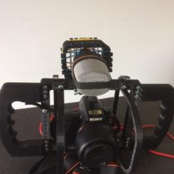 stl Micro sostenedor para la jaula modular DSLR gratis, vanson