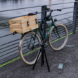 Free Wooden box Ikea mount for bicycle 3D model, vanson
