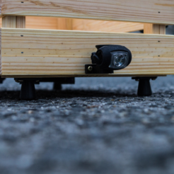 Download free STL file  Foot for my wooden box Ikea mount for bicycle, vanson
