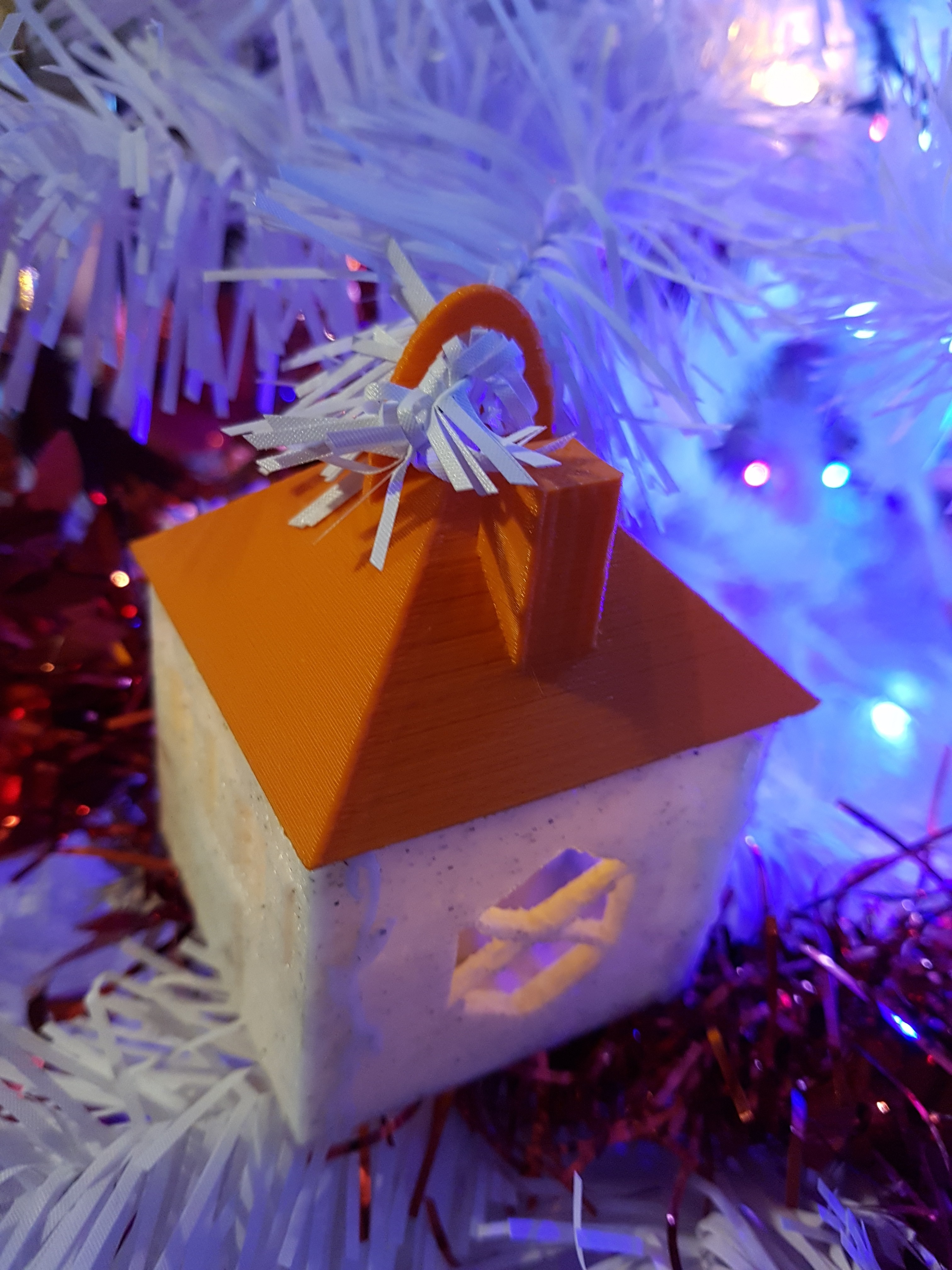 20171202_171418.jpg Download STL file house (box and tealight holder and Christmas ball) • 3D printing object, catf3d