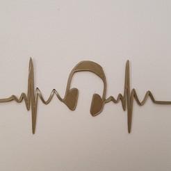 3D print files my heartbeat, catf3d