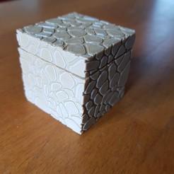 "Download 3D printer templates small ""stone"" box, catf3d"