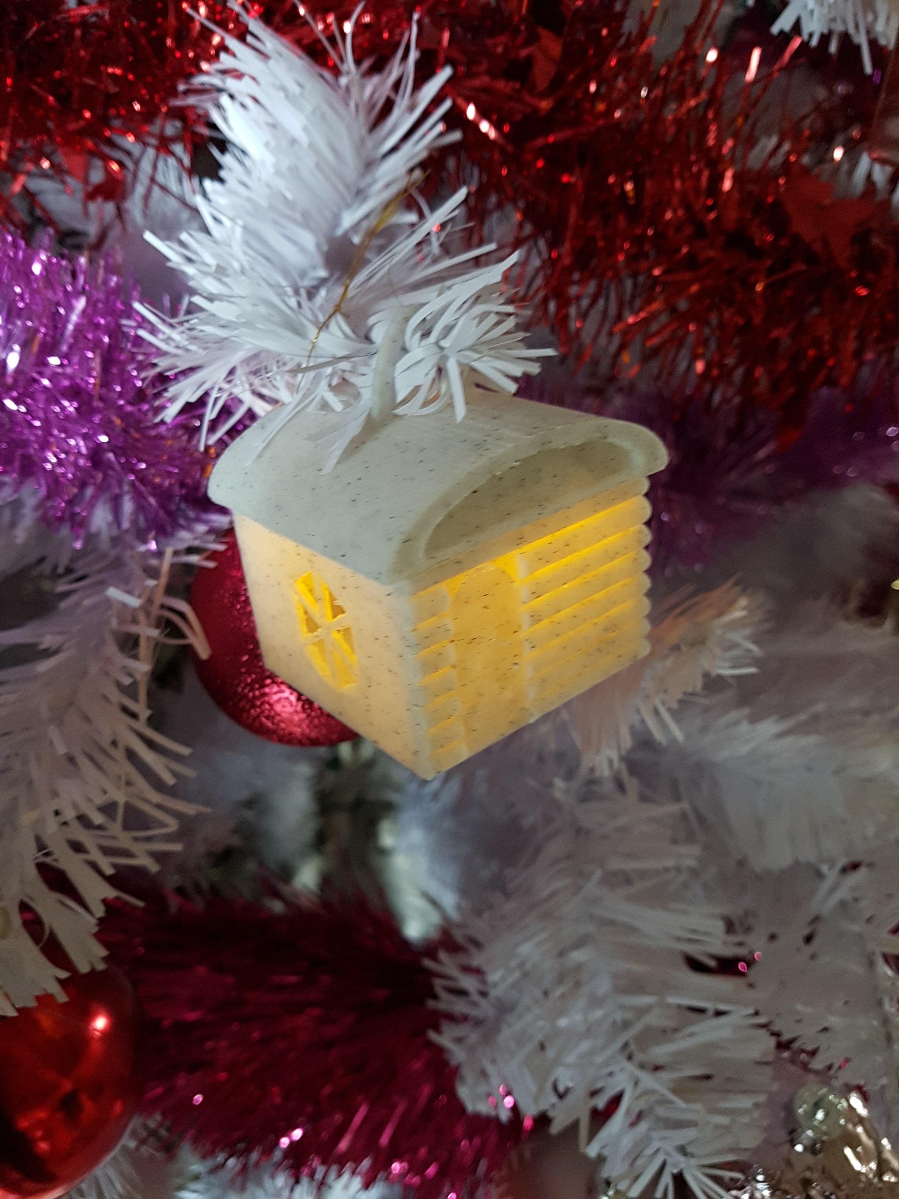 20171209_141155.jpg Download STL file HOUSE 2 (BOX AND PHOTOPHORE AND BALL OF CHRISTMAS) • Model to 3D print, catf3d
