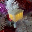 3D printer files HOUSE 2 (BOX AND PHOTOPHORE AND BALL OF CHRISTMAS), catf3d