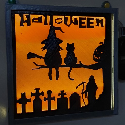 20191105_101832 (2).jpg Download free STL file illuminated halloween frame • 3D printing model, catf3d