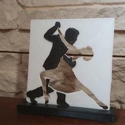 Download 3D printer templates the dancers, catf3d