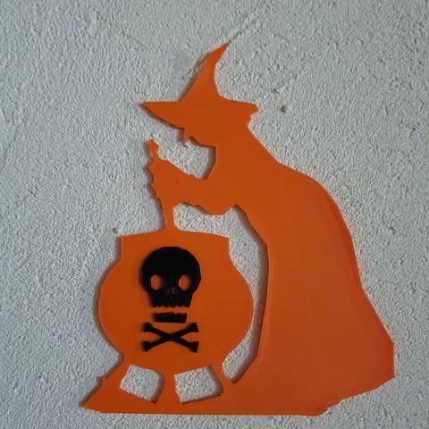 20180917_143236.jpg Download STL file Halloween (full of wall decoration) • 3D print model, catf3d