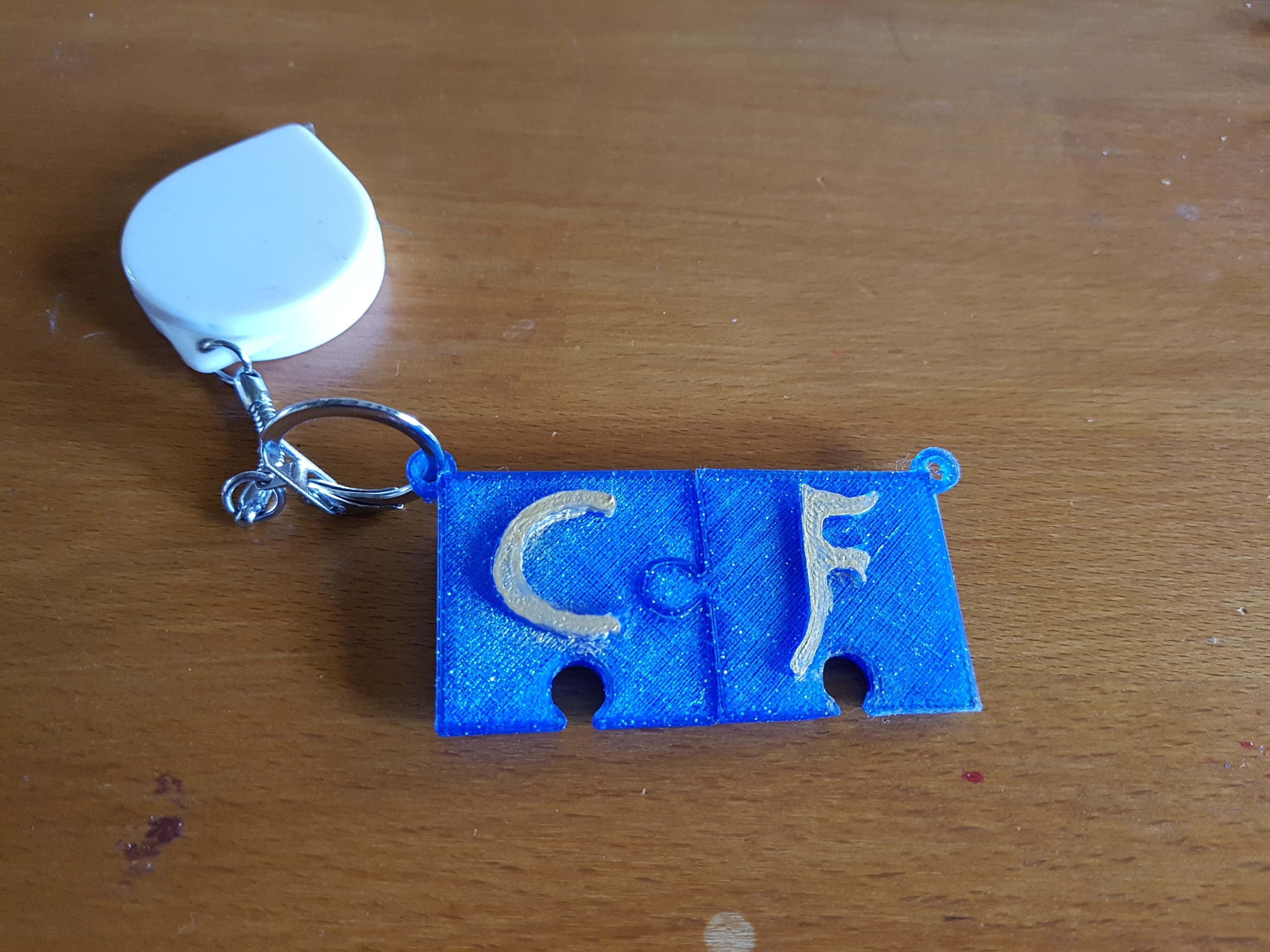 20180308_142107.jpg Download STL file puzzle key ring • 3D printing design, catf3d