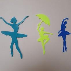 Free 3D printer model classical dancer figurines and mermaid, catf3d