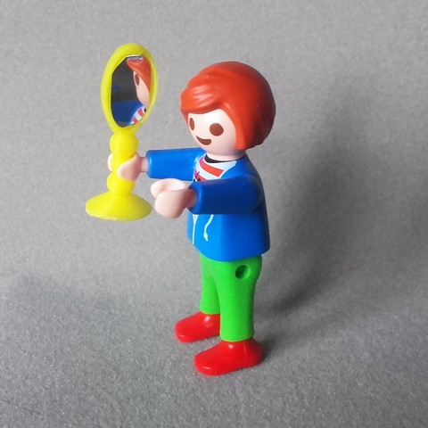 modle 3d gratuit miroir pour playmobil grand et petit catf3d - Playmobil Gratuit