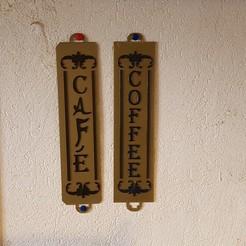 STL files coffee decoration, catf3d