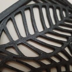 3d printer model autumn leaf board, catf3d