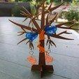 3d print files jewel tree mini stand, catf3d