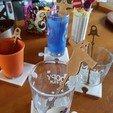Download 3D printer designs Halloween coasters puzzle, catf3d