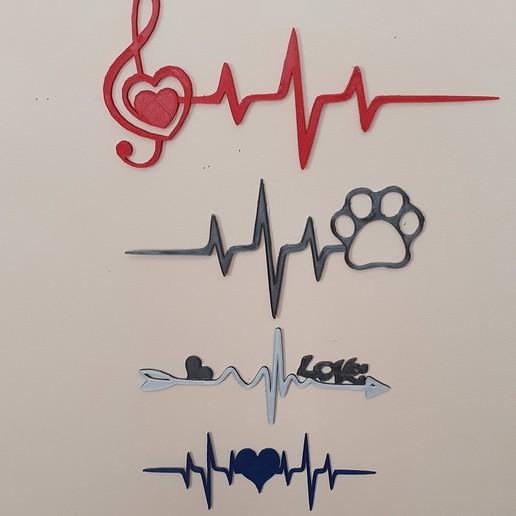 20200324_1301383.jpg Télécharger fichier STL le battement de mon cœur 2 = 4 lignes de vie • Objet pour impression 3D, catf3d