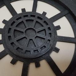 3d printer designs gear decoration, catf3d