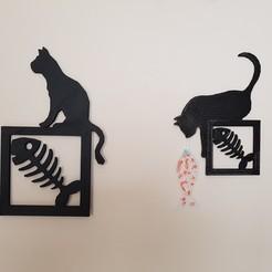 Plan 3D tableaux  chats, catf3d