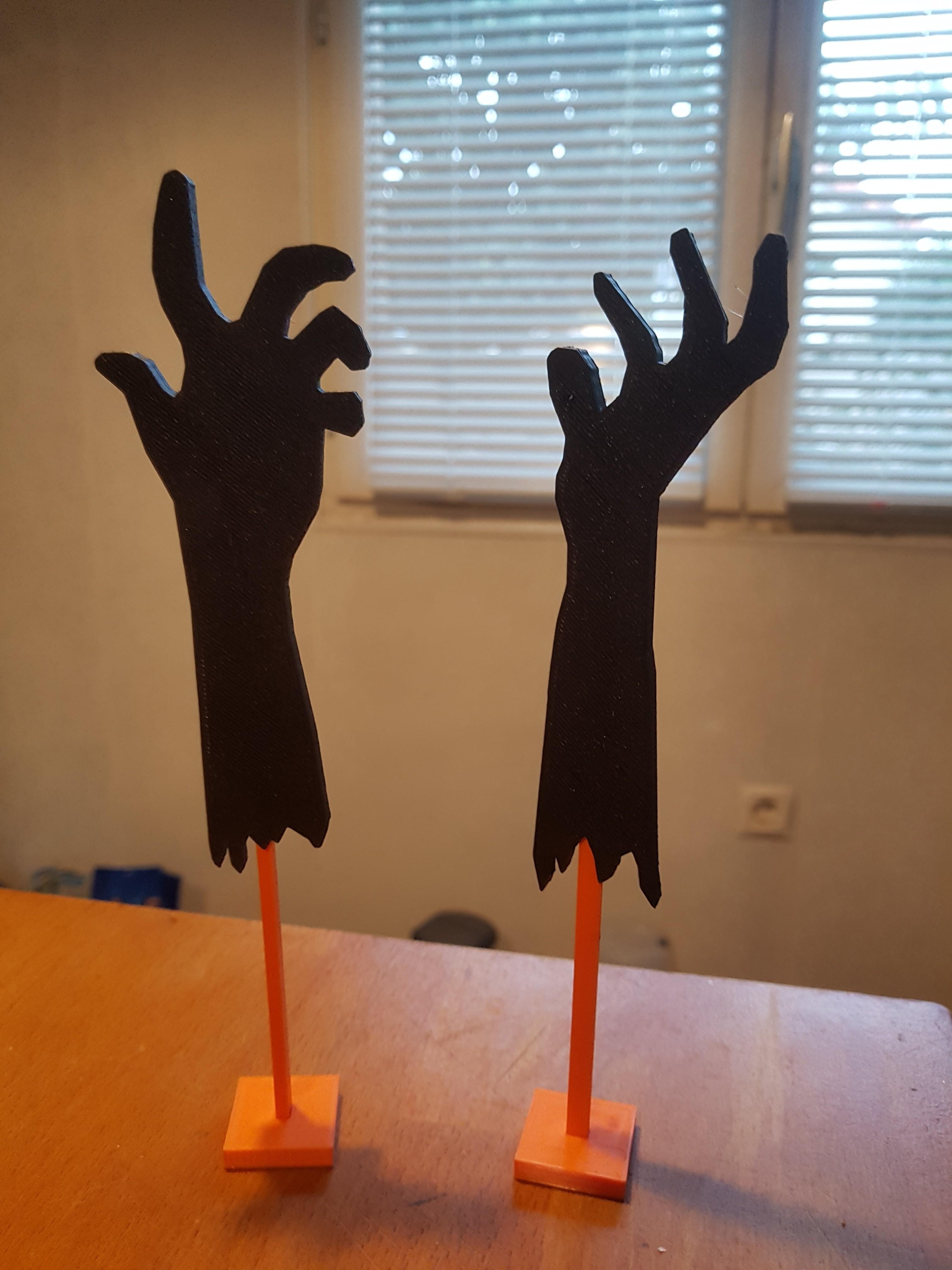 20181010_090915.jpg Download free STL file living dead arm • 3D printer template, catf3d