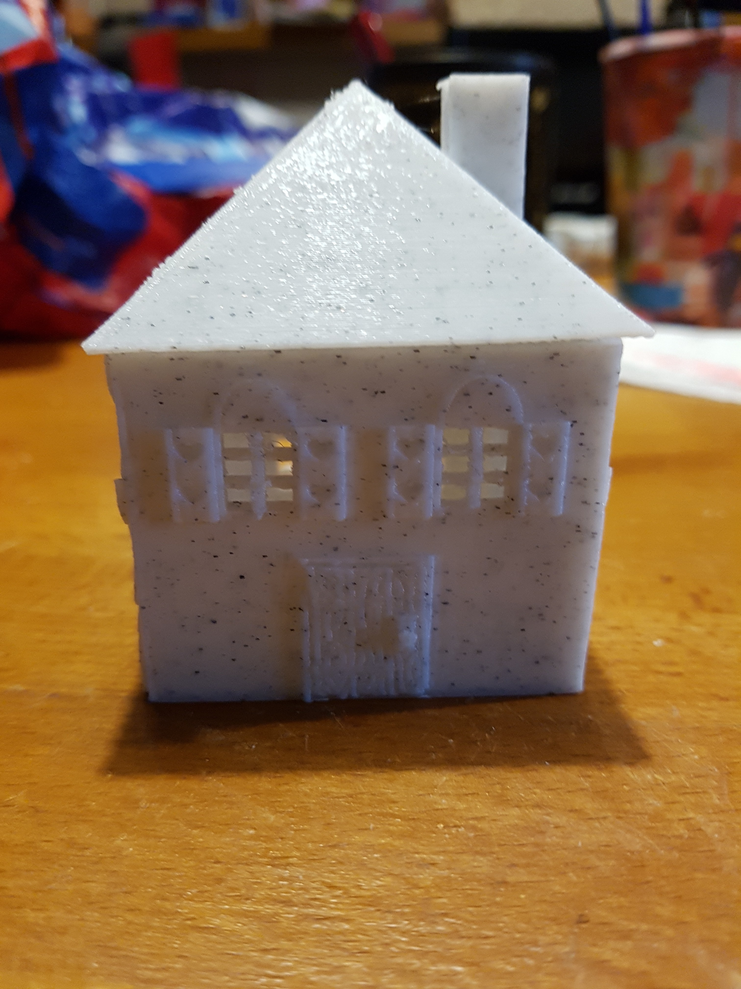 20171111_170453.jpg Download STL file house (box and tealight holder and Christmas ball) • 3D printing object, catf3d