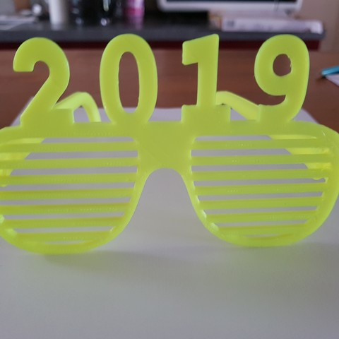20180806_160829.jpg Download free STL file glasses and key ring 2019 • Template to 3D print, catf3d