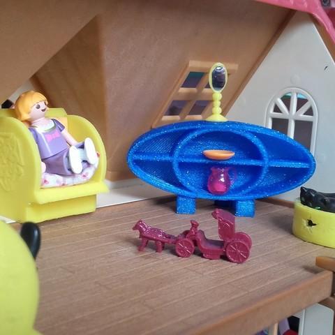 catf3d objet 3d gratuit petit meuble pour playmobil