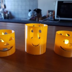 Plan 3D PHOTOPHORE HALLOWEEN, catf3d