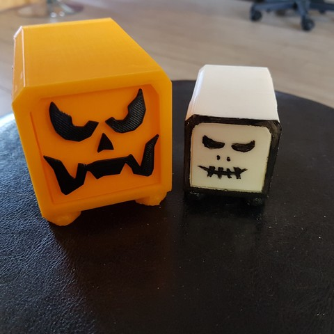Download 3D model Halloween box, catf3d
