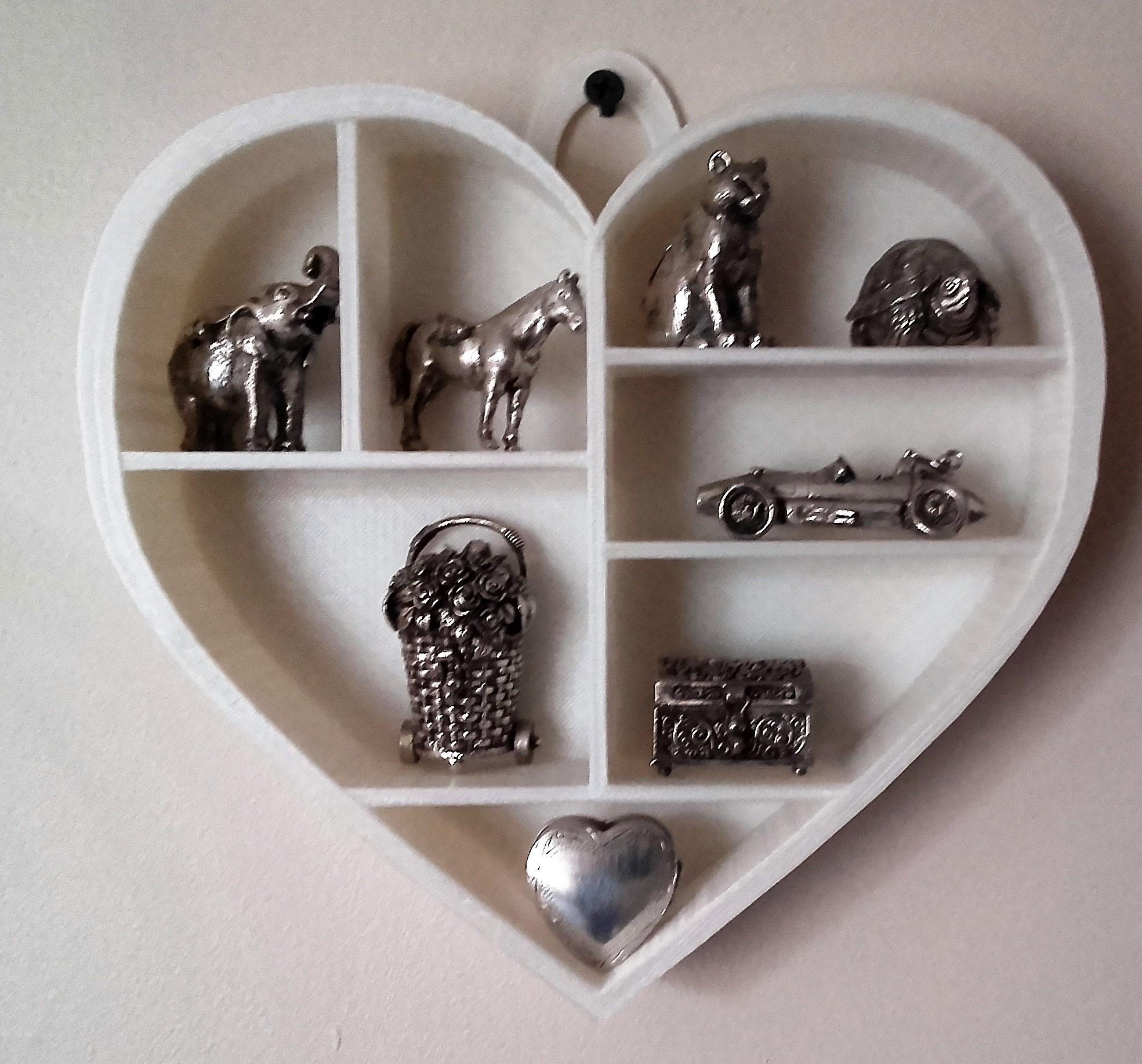 20170305_112722.jpg Download STL file Heart shelf • 3D printing model, catf3d
