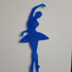 diseños 3d gratis bailarina, catf3d