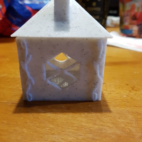 20171111_170458.jpg Download STL file house (box and tealight holder and Christmas ball) • 3D printing object, catf3d