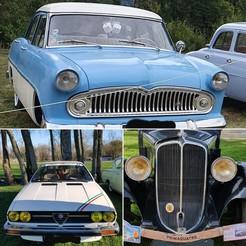 Télécharger fichier 3D gratuit pièces pour vieilles voitures : alfa roméo, prima quatre et ariane, catf3d