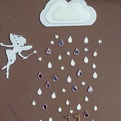 STL pluie d'automne, catf3d
