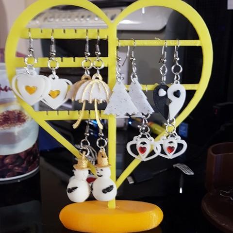 Modèle 3D stand bijoux, catf3d
