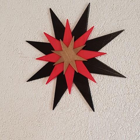 20171203_133948.jpg Download STL file the christmas star • 3D printer model, catf3d
